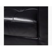 Famous Design Fauteuil Lounge Knoll - Noir