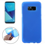 Samsung Galaxy S8 Case, Frosted Soft TPU Protective Case Small Quantity Recommended Before Samsung Galaxy S8 Case, Launching(Blue)