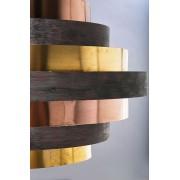 Kare Design Belt Hanglamp 6-Lichts -Ø60 Cm - Multikleur