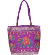 Womaniya Girls Purple Shoulder Bag