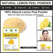 100 Pure Organic natural Lemon peel powder 2x 400 Grams