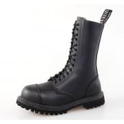 cipő GRINDERS - 14dírkové - Herald Derbi - Black