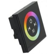 RGB led szalag vezérlő, 144W, rádiós, érintő paneles, fali. Life Light Led.