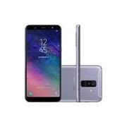 Smartphone Galaxy A6 Plus A605GN, Android 8, Memória Interna de 64gb, Tela de 6, Câmera Dupla 16Mp, Cinza - Samsung