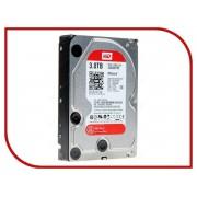 Жесткий диск 3Tb - Western Digital WD30EFRX Caviar Red