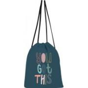 shree saavi You Got This Drawstring bag 5 L Backpack(Blue)