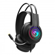 HEADPHONES, Marvo HG8935, Gaming, RGB, Microphone, 50mm, USB