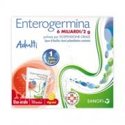 Sanofi Spa Enterogermina 6 Miliardi/2 G Polvere Per Sospensione Orale 10 Bustine
