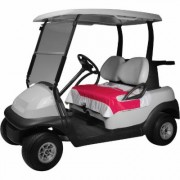 Classic Accessories Fairway Golf Cart Seat Blanket - Pink, Model 40-024-014401-00