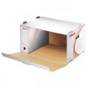 Container arhivare, alb, deschidere laterala