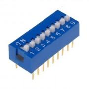 Life Dip Switch 9 Poli Per Circuiti Stampati Passo 2,54 Mm Tcs