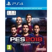 PES 2018 Pro Evolution Soccer Legendary Edition PS4