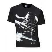 Rock You T-Shirt Piano Hands Lizenz L