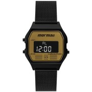 Relógio Mormaii Vintage Preto Unissex MOJH02BD/4D
