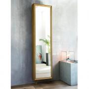 Spiegel-Drehschrank Barock, Gold