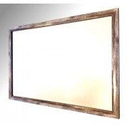 Silver Distressed Framed 30X20 Bevelled Mirror