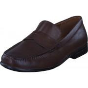 Clarks Claude Lane Brown Leather, Skor, Lågskor, Finskor, Lila, Herr, 46