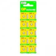 Бутонна алкална батерия GP192 LR-41/ 10 бр./pack цена за 1 бр./ 1.55V GP, GP-BA-LR-41