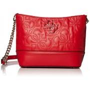 Guess New Wave bolsa deportiva (tamaño pequeño), Rojo, Talla unica