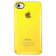 Capa Puro Crystal para iPhone 4 / 4S - Amarelo Transparente