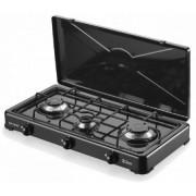 Aragaz plita 3 ochiuri ZLN0032 Consum specific : 0,380 kg/h,Negru