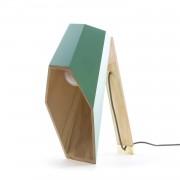 WOODSPOT - Lampa stołowa Wys.44cm - Zielony