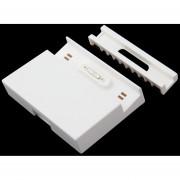 EY Escritorio Magnética Carga Muelle De La Horquilla Para Sony Xperia Z3 DK48 Nuevo Color Blanco.
