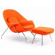 Design Town Fotel Wełna Naturalna Inspirowany Projektem Womb Chair