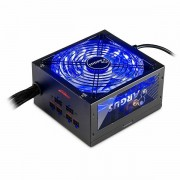 Power Supply INTER-TECH Argus RGB 650W CM, 80PLUS Gold, 140mm fan with 21 ultra bright LEDs,Switchable illumination, Acrylic glass side panel, active PFC, 2xPCI-e, OPP/OVP/SCP protection, semi-modular IT-ARGUS_RGB-650W_CM