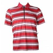 Gonso Shirt Tias Heren Rood Wit Maat S
