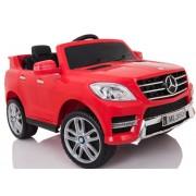 Masinuta electrica cu scaun de piele Mercedes Benz ML350 Red