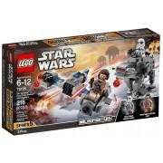 LEGO Star Wars 75195 Snežný spídr a kráčející kolos Prvního řádu