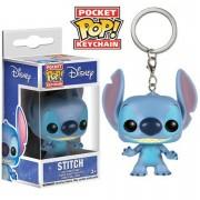 Pop! Keychain Disney Lilo And Stitch Stitch Pocket Pop! Vinyl Key Chain