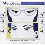 Mintree Stick-On Wing Eyeliners Classic Black Cat Silver