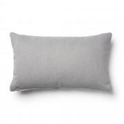 Kave Home Capa de almofada Kam 30 x 50 cm cinza claro
