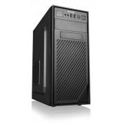 Carcasa PC Logic H2, MidTower, Sursa 600W (Negru)