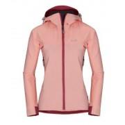 Kabát Zajo Air LT Hoody W Jkt Seashell Pink