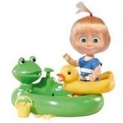 Маша и Мечока - Кукла Маша с бански костюм, Simba, 040114