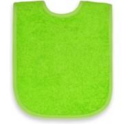 Slabbetje groen 25x40cm