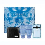 Gianni Versace Man Eau Fraiche 100ml Apă De Toaletă + 50ml Gel de duș + 50ml After Shave Balsam + Wallet Set