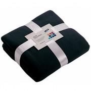 Donkerblauw fleece deken