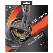 Steelseries Siberia 350 Stereofonico Padiglione auricolare Nero cuffia e auricolare