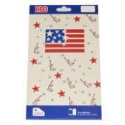 Преден и заден протектор за Apple iPhone 4/4S American Flag