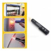 P-TOP 2 * AAA alimentado por bateria sin contacto LED del lapiz del palillo del probador? sensor detector de voltaje (CA 90 ~ 1000 V)
