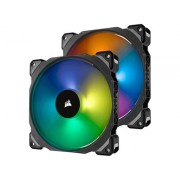 Corsair ML140 PRO RGB Two Pack with Lighting Node
