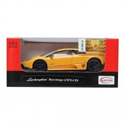 Rastar 1:43 Lamborghini Murcielago Lp 670 4 Sv Car Yellow Diecast Model New Gift