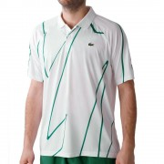 Lacoste Novak Djokovic Polo Heren - wit