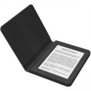eBook четец BOOKEEN SAGA, 6 инча, Силиконов калъф, Черен, BOOKEEN-CYBSB2F-BK