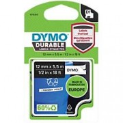 Dymo D1 Durable Labelling Tape 1978364 Black on White 12 mm x 5.50 m