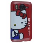 HTC Desire HD Hello Kitty Back Case - HTC Hard Case (White/Red)